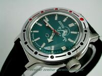 RUSSIAN  VOSTOK AUTO  AMPHIBIAN DIVER WATCH #42059d NEW