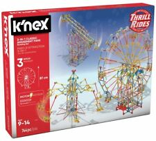 K'NEX 3 in 1 Amusement Park Building Turn The Motor On And Watch Your Ferris Set