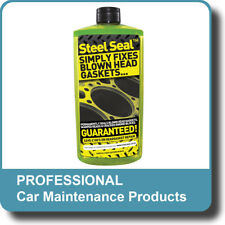 Steel Seal Head Gasket Block Repair Fix Permanent Cooling System Cracked Sealer