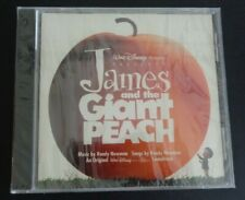 James and the Giant Peach by Randy Newman (CD, 2002, Walt Disney) NEW Soundtrack