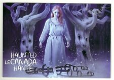 "2015 Canada Post ""Prepaid Worldwide"" Haunted Postcard Marie-Josephte Corriveau"