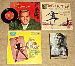"Tab Hunter LP Collection:Tab Hunter/Hans Brinker/Damn Yankees/Young Love-7""+Book"