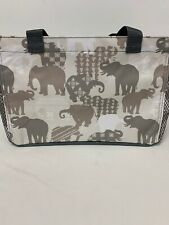 Thirty One ALL IN ORGANIZER Bag ~Elephant Parade ~ 31 Gifts New