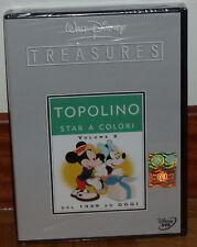 #8007038001728 Walt Disney Treasures - Topolino Star a colori #02 2 Dvd' DVD