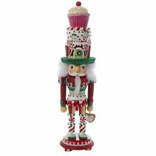 Hollywood Cupcake and Sweets Hat Wooden Christmas Nutcracker 18 Inch HA0307 New