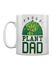 Mug Proud Plant Dad Father's Day White 8x9.5cm