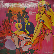 """HENRY JEROME AND HIS ORCHESTRA - SUPER STEREO DANCE PARTY 12"""" LP (P605)"""