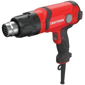 CRAFTSMAN NEW 5100-BTU Heat Gun with Variable Temperature Control CMEE531