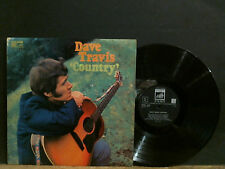 DAVE TRAVIS  Country   LP     Folk Country Bluegrass  with Dave Moses  GREAT!
