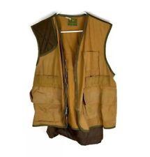 Field & Stream Mens Hunting Vest With Game Pocket Bird Duck Rabbit M