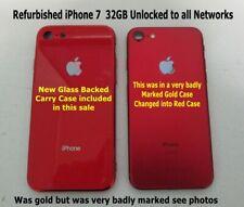 APPLE iPHONE 7 32GB Teléfono inteligente Rojo (Desbloqueado) Renovado