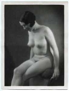 Photo Henri Manual - silver print Vintage 1930's - Folies Bergères