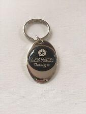 Dodge Daytona Keychain Chrome Metal Dodge Key Chain