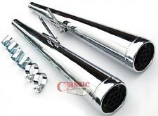 DUNSTALL STYLE MUFFLERS MAY SUIT HONDA CB250 CB400 CB550 CB750/ CAFE RACER /