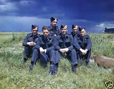 Dambusters 617 squadron  Flight Lieutenant Joe McCarthy Lancaster photo print