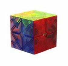 Rubik Cube YJ8309 2x2 Stickerless (Transparent)