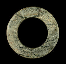 GORGEOUS ANCIENT CHINESE LONGSHAN CULTURE JADE BI