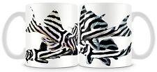 Plecostomus Fish Mug L046 Zebra Plec Pleco