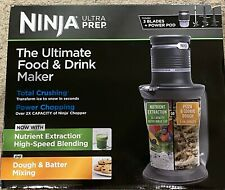 NEW Ninja Ultra Prep Blender~Food Processor~Ice Crusher 700 Watt