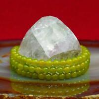 Mala Grün Meditation Guru Stupa Buddhismus Kette Halskette Schützer Nepal 101j