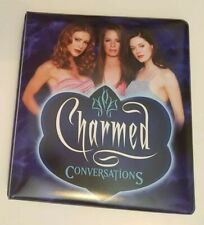 Charmed Conversations Trading Card Collectors Binder (Inkworks, 2005)