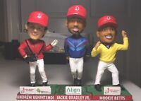 Red Sox Win, Dance, Repeat 2017 Lowell Spinners Bobblehead Full Set(3).