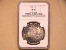 Uncirculated Business NGC Morgan Dollars (1878-1921)