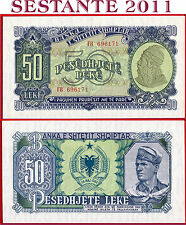 ALBANIA  -  50 LEKE 1957 - P 29 -  FDS /UNC