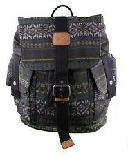 Bench Lakkota B Bramhall Tote 17x17x7 Aztec Print Cotton Backpack School Bag NWT