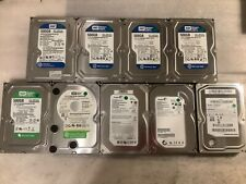 "Lot of 9 WD, Seagate, Samsung 500GB 3.5"" SATA Desktop Hard Drives"