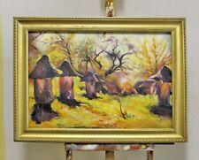 Abstrait Peinture Toile Fait à la Main Cadre Huile Tableau Photos G95772
