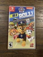 PAW Patrol on a Roll (Nintendo Switch) - Game Cartridge & Case