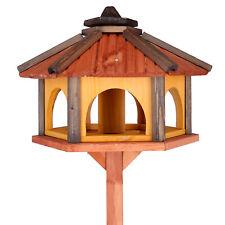 Vogelhaus auch mit Ständer groß Vogel Futter aus Holz Vogelhäuser 50 cm breite