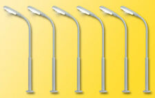 Viessmann 64906 Voie N, Lampes de rue 5+1, DEL blanc #neuf emballage d'origine#