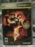 Resident Evil 5 (Microsoft Xbox 360, 2009) Pre-owned & Played Through