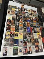 HUGE Lot of (73) /80's /90s Assorted Cassette Tapes Originals Vintage Good Hits
