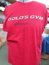 Golds Gym Mens Muscle Shirt Tank Top 2xl Red