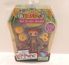 Lalaloopsy Ace Fender Bender Silly Funhouse Mini Doll Figure Toy w/ Monkey NEW