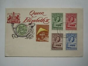 1955 BECHUANALAND FIRST DAY OF ISSUE COVER
