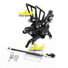 Adjustable Rearsets Foot Pegs Rear Sets For Honda CBR600 F4 1999 / F4I 2006 PEG