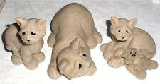 New Set of 3 Quarry Critters: Calypso, Chiquita, Cari&Don 2001 Retired Originals