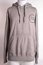 2015 MENS BILLABONG LOOPER PULLOVER HOODIE $50 L grey washed look pullover