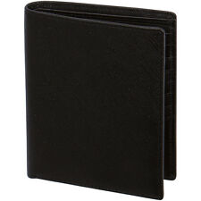 The Globetrotter Passport Travel Wallet by JETSET Black Saffiano Premium Leather