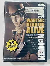 WANTED DEAD OR ALIVE, SEASON ONE, 18 EPISODES, STEVE MCQUEEN, DVD SEALED