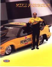 1999 Mike Ferderer Pennzoil Pontiac Grand Prix GTP Super Gas NHRA postcard