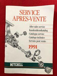 LIVRE MITCHELL SERVICE APRES VENTE 1991 (PECHE)