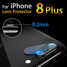 For iPhone 8 Plus Cover 3D Curved Camera Lens Tempered Glass Screen Protector 2x