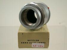Orig Leica Leitz Elmar 3.5/65 Einstell-Fassung Focusing Macro Lens 16464K 454/9
