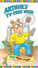 Arthur's TV-Free Week (VHS) cartoon animated rare