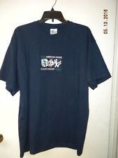 Seattle Mariners MLB Unisex Large 2000 American League Championship Series Shirt